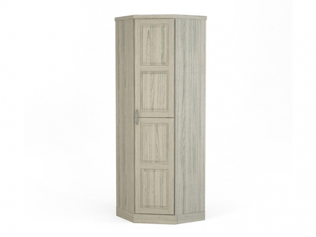 Белый шкаф угловой Варна беленый дуб