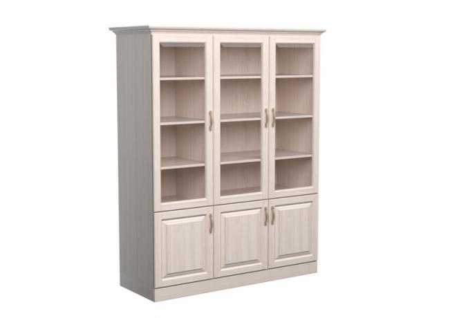 Шкаф-библиотека Эдем 3х створчатый