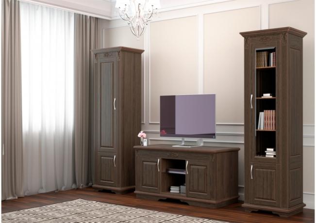 Шкаф-библиотека Палермо 1 створчатый