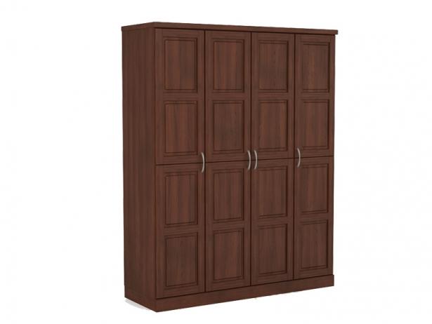 Шкаф распашной из массива 4-х створчатый Варна орех