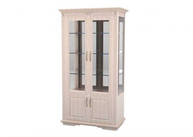 Шкаф витрина Палермо 2х створчатый