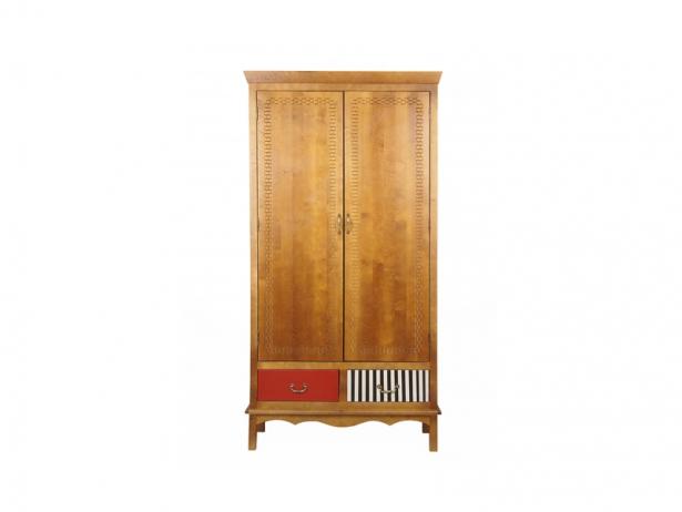 Шкаф двухстворчатый Gouache Birch