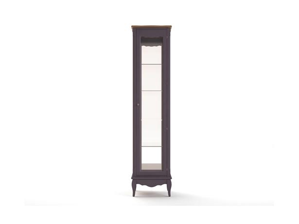 Шкаф для посуды Leontina lavanda высокий