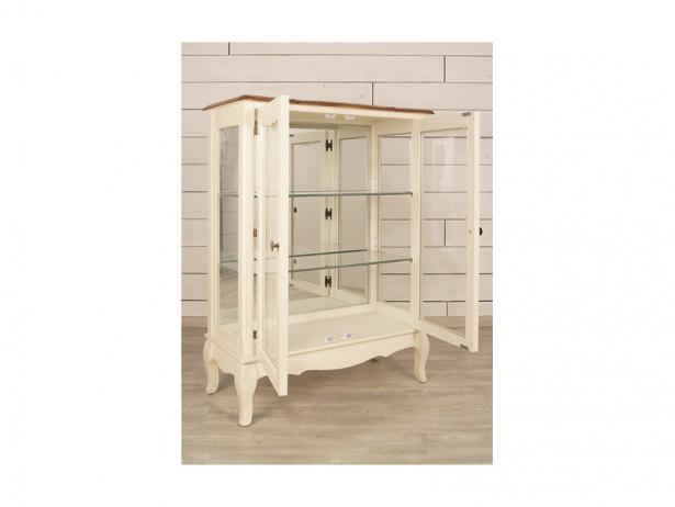 Двустворчатый шкаф Leontina для посуды