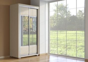 Шкаф-купе 2-х дверный Orma Soft LUX зеркальный