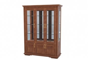 Шкаф-витрина Палермо 3х створчатый