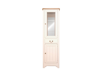 Шкаф-витрина Olivia в бежевом цвете